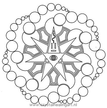 2.10 Graancirkel Cropcircle Alton barnes 25-8-2008 heptagram zevenster seven pointed star