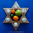 Crystal Merkaba Stargate fruit apple
