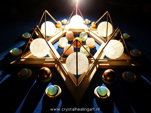 Crystal Merkaba Stargate light healing