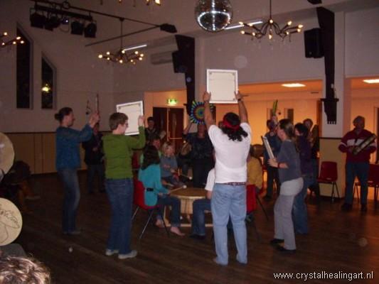 Drumcircle 26-3-2010 orbs