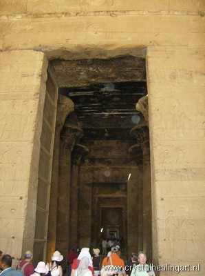 Edfy temple Egypt orbs
