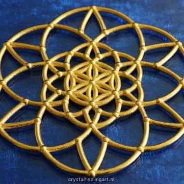 Flower of life fractal sacred geometry heilige geometrie 3