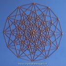 Hexeract hypercube hyperkubus 6d sacred geometry heilige geometrie