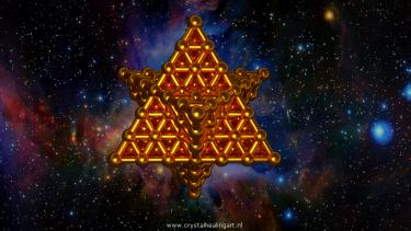 Merkaba markabah star tetrahedron ster tetraeder sacred geometry heilige geometrie flower of life levensbloem crystal healing art