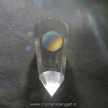 Phi Vogel crystal rainbow orb
