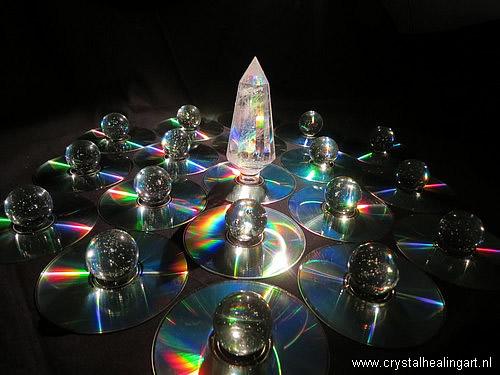 Phi Vogel kristal regenboog grid heilige geometrie rainbow sacred geometry