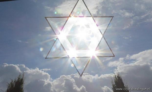 Prisma Merkaba sunlight energy sky