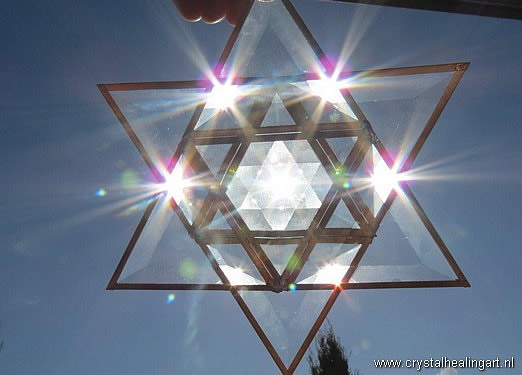 Prisma merkaba stars