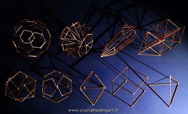 truncated isosahedron diamond brilliant phi vogel crystal kabbala five platonic solids
