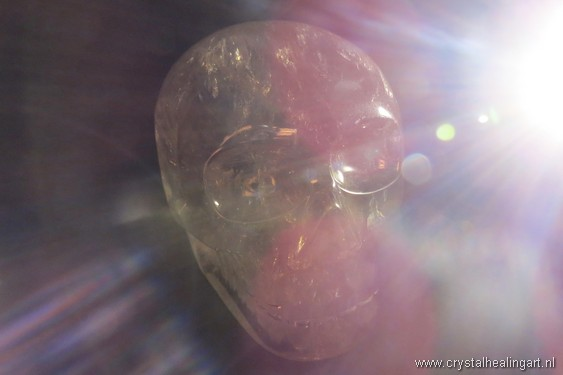 Crystal skull light energy healing