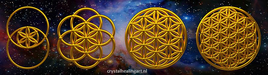 De Heilige Geometrie Crystal Healing Art