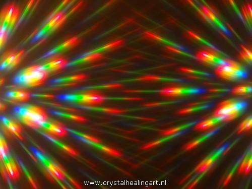 Regenboog licht rainbow light