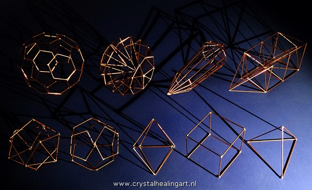 truncated isosahedron diamond brilliant phi vogel crystal kabbala five platonic solids